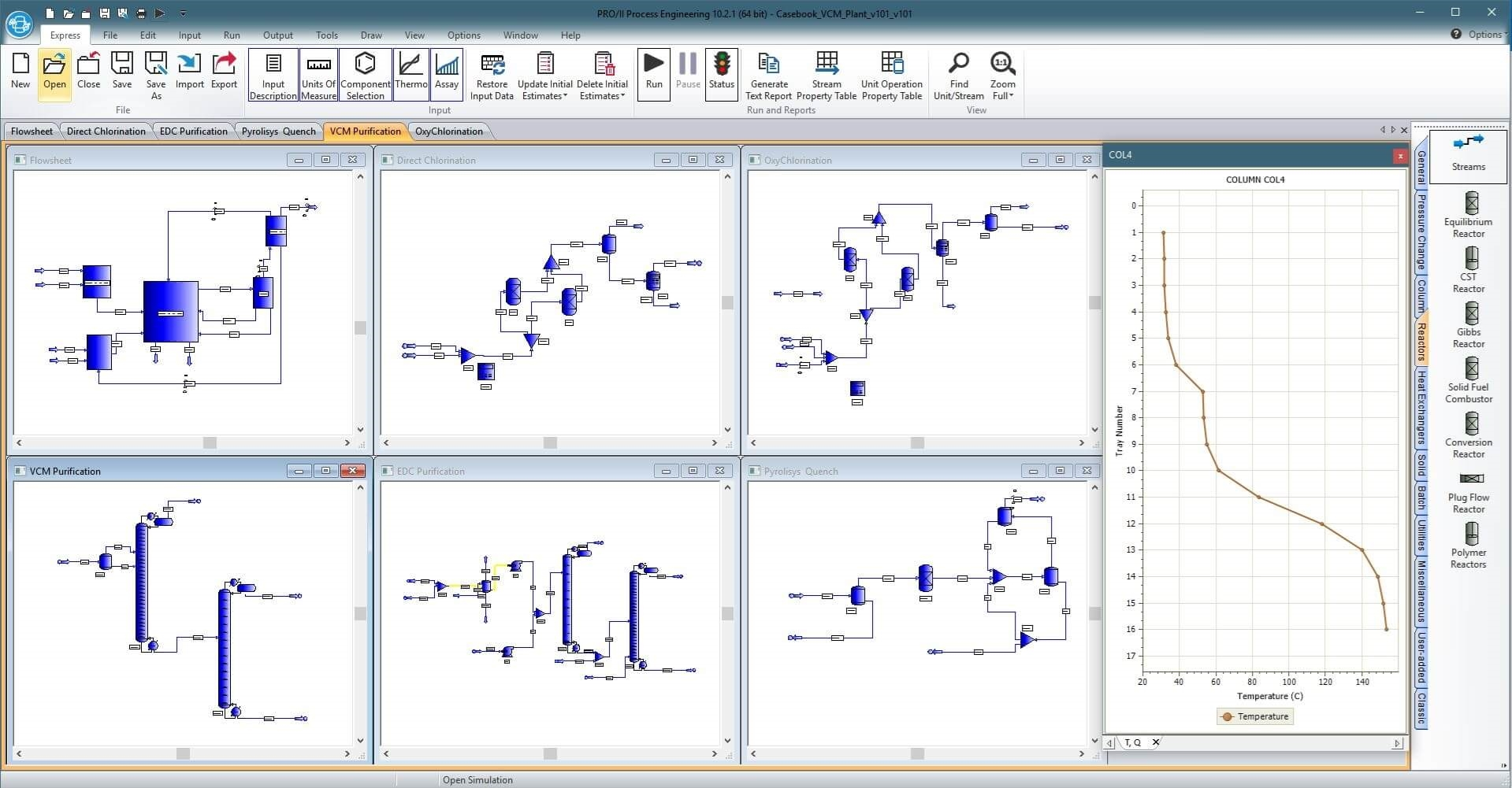 PRO/II Process Engineering